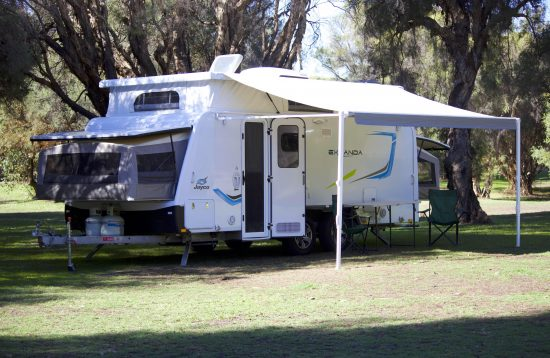 Expanda Caravan set up