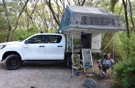 hilux 4wd camper