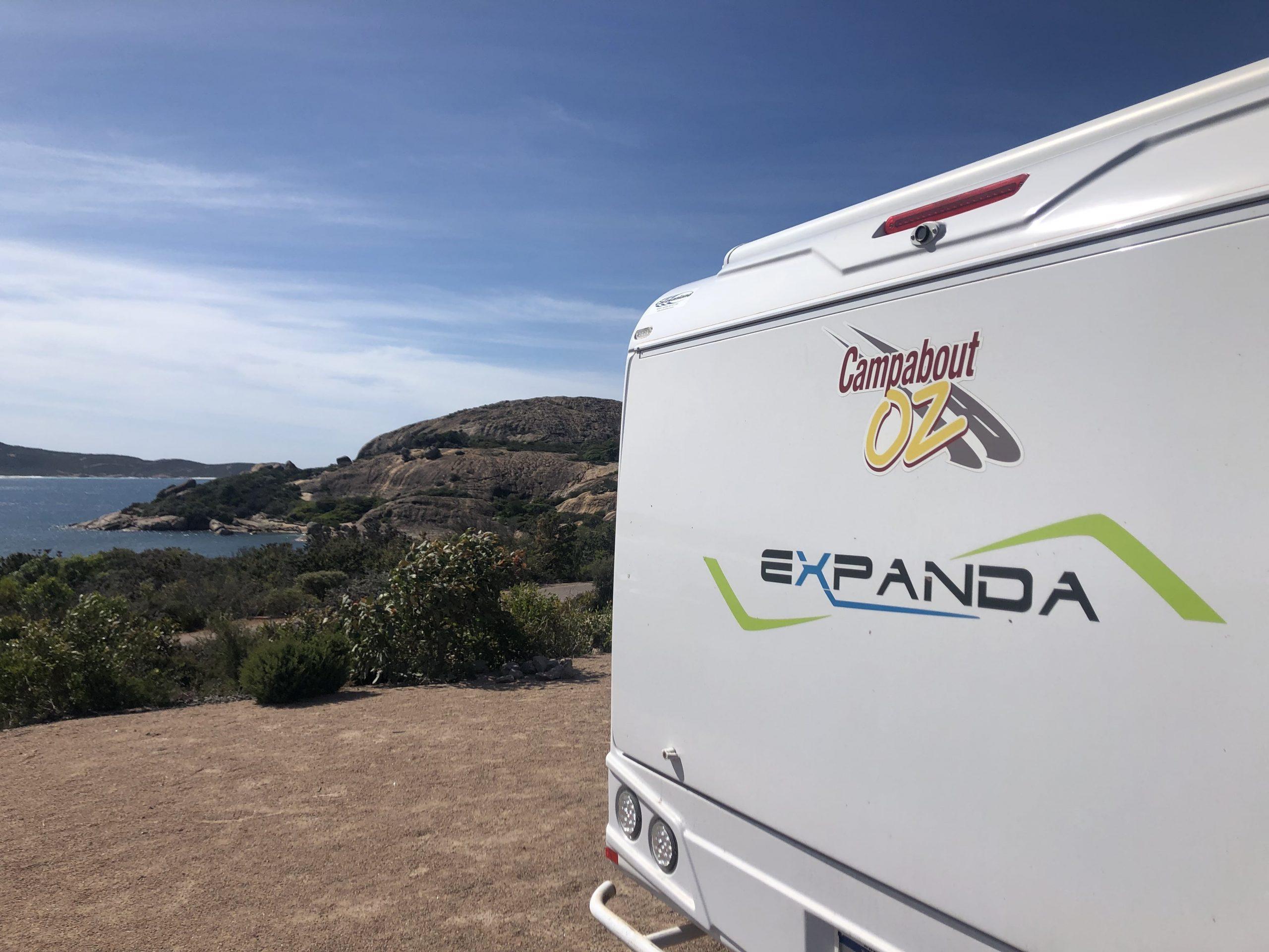 Campabout Oz caravan hire