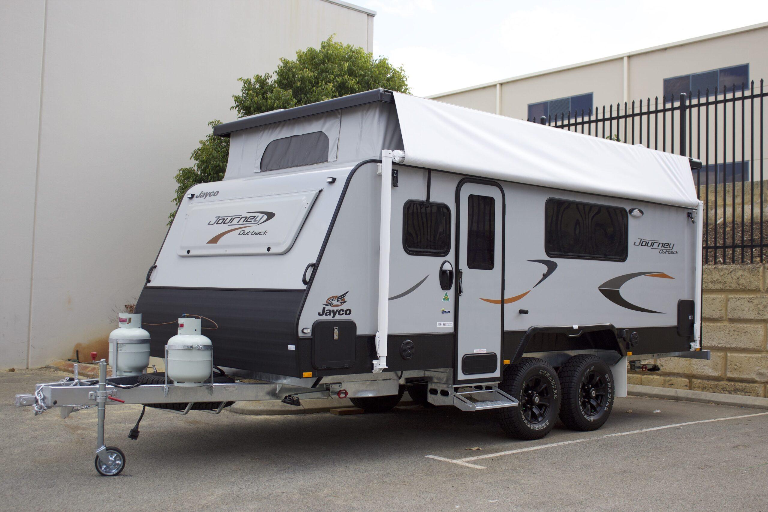 journey caravan hire