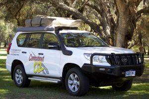 landcruiser prado 4WD hire